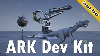 getlinkyoutube.com-ARK Survival Evolved Dev Kit Sneak Peek Oviraptor, Rocket Turret and more!!