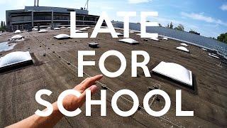 LATE FOR SCHOOL PARKOUR - POV