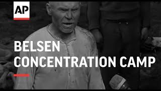 getlinkyoutube.com-Belsen Concentration Camp - Reel 1 & 2 - 1945