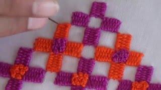 Hand Embroidery: Border stitch