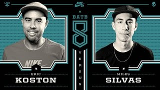 getlinkyoutube.com-Eric Koston Vs Miles Silvas: BATB8 - Round 1