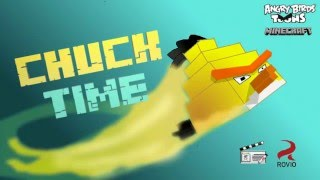 "Angry birds Minecraft ""Chuck time"" (Minecraft Re-make animation)"