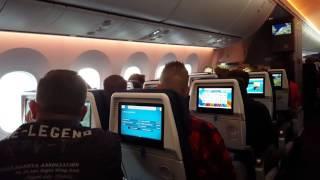 getlinkyoutube.com-KLM 787-9 Cabin, Takeoff and Window view. (4K)