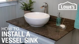 getlinkyoutube.com-How to Install a Vessel Sink