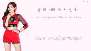 getlinkyoutube.com-TWICE – Like OOH-AHH (OOH-AHH하게) [HAN|ROM|ENG Color Coded Lyrics]