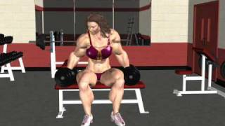 getlinkyoutube.com-Amazonian Work Out 3D animation