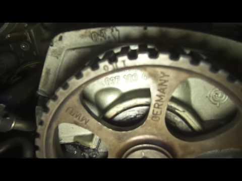 Замена сальника коленвала и ремня ГРМ VW Двигатель AGG