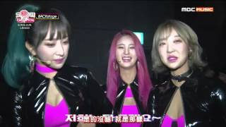 getlinkyoutube.com-[PTT中字] 151121 EXID Hot pink Backstage@Showchampion
