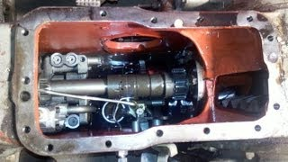getlinkyoutube.com-MF 165 Multi Power -  breaking in the new hydraulic pump - part 10