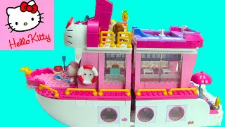 getlinkyoutube.com-Hello Kitty Mega Bloks Cruise Ship 10930 ToyGenie