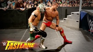 getlinkyoutube.com-Kalisto vs. Alberto Del Rio - 2-out-of-3 Falls U.S. Title Match: WWE Fastlane 2016 Kickoff