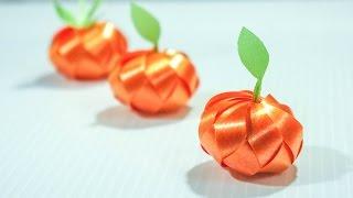 วิธีพับเหรียญโปรยทานส้ม แบบง่ายๆ - 108 Ribbon