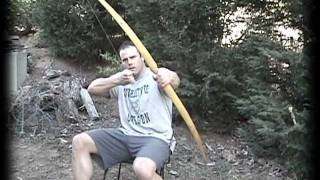 getlinkyoutube.com-Making a Primitive Bow, Part 4