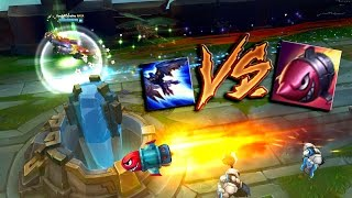第一屆LOL杯賽跑大賽系列JINX的R和葵恩比賽