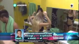 getlinkyoutube.com-El sueño de Francisco, bañarse con Romina y Belen Gran Hermano 2015