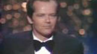 flushyoutube.com-Jack Nicholson Wins Best Actor: 1976 Oscars