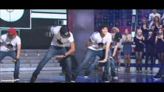getlinkyoutube.com-BEAST \ B2ST - 비스트 VS MBLAQ - 엠블랙100909 STAR DANCE BATTLE [HD]