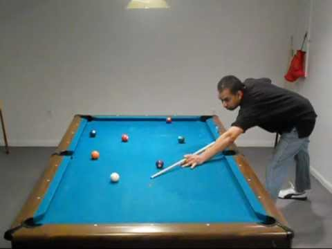 Pool Lessons - Running a rack of 15 balls X 2