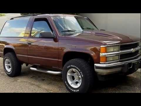 1994 chevy blazer z71 6 5 turbo diesel for sale autos post. Black Bedroom Furniture Sets. Home Design Ideas