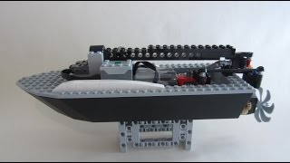 getlinkyoutube.com-LEGO RC Boat