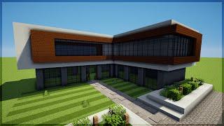 getlinkyoutube.com-Minecraft: Construindo uma Casa Moderna 8