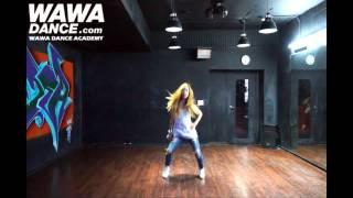getlinkyoutube.com-WAWA DANCE ACADEMY TIARA SUGAR FREE DANCE STEP MIRRORED MODE