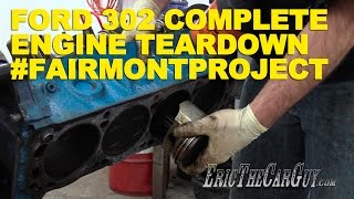 getlinkyoutube.com-Ford 302 Complete Engine Tear Down #FairmontProject