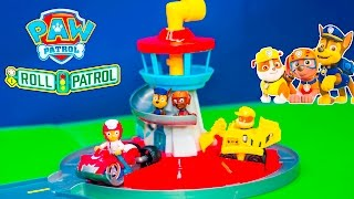 PAW PATROL Nickelodeon Launch and Roll Lookout Tower New Toys Video