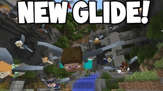 NEW GLIDE Mini-Game/16 Player Multiplayer OUT Tomorrow! (Minecraft Console Edition)