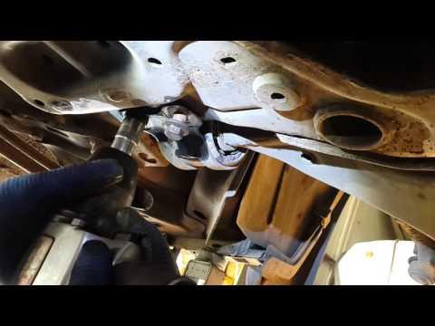 Снятие переднего рычага, замена заднего сайлентблока ford focus 2