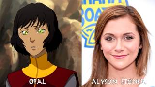 getlinkyoutube.com-The Legend of Korra - Characters and Voice Actor (Book 1~4); 코라의 전설 성우들