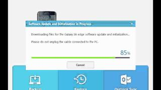 getlinkyoutube.com-Samsung Smart Switch for PC / MAC Flashing Firmware to Galaxy S6 Edge