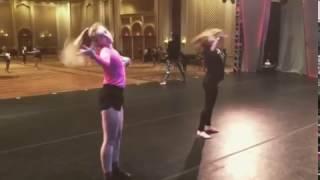 JJGirls Alexia Meyer and Ali Deucher at NYCDA (Joey Dowling Choreo!)