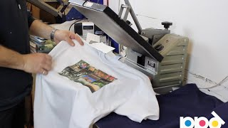 Start Your Own T Shirt Printing Business Using Heat Press Transfer Paper