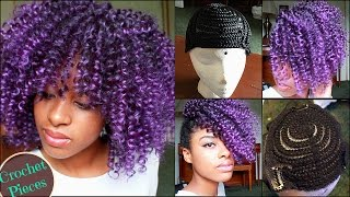 How to | Crochet Braid Curly Wig & Updo