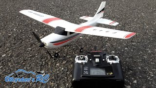 getlinkyoutube.com-WLToys Cessna 182 RC Plane Unboxing, Build, Review, and Maiden Flight