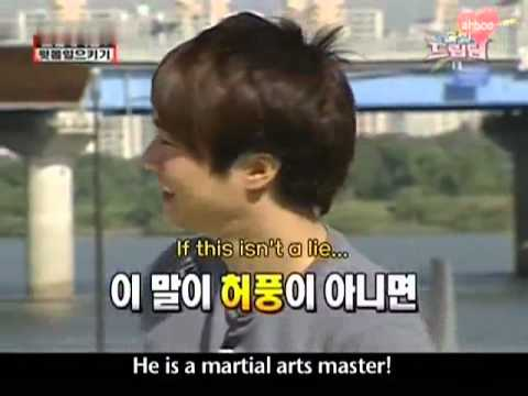 [Eng] Dream Team Episode 2 -- feat. Super Junior Eunhyuk (1/7)