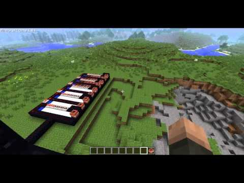Minecraft: TNT CANNON! (how to tutorial)