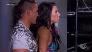 720pHD: iMPACT Wrestling 10/25/12 Brooke Hogan & Tara Backstage Segment