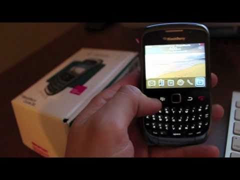 How to Unlock Blackberry Curve 9300 by Unlock Code /