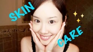 getlinkyoutube.com-My Japanese Skincare Routine♡ Get Ready With Me! 潤いスキンケア