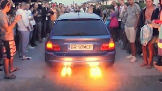 getlinkyoutube.com-BMW E46 Touring M3 Turbo 768bhp @ EuroCar Meeting