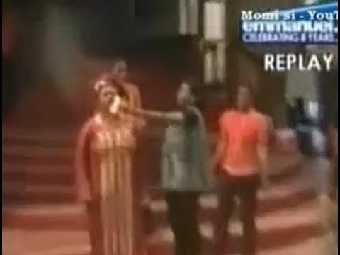 DEMON LEAVING CAUGHT ON CAMERA SMOKE Prophet TB Joshua SCOAN 09 Mar 2014
