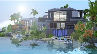 getlinkyoutube.com-The Sims 3 - House Building - The Lookout