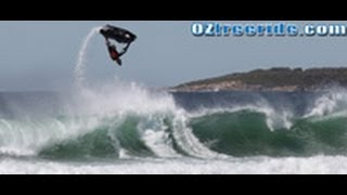 getlinkyoutube.com-Crankin at Cronulla  HD ozfreeride.com Jet ski Surf Australia 9-5-09