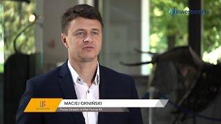 Unified Factory SA, Maciej Okniński - Prezes Zarządu, #54 PREZENTACJE WYNIKÓW