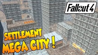 getlinkyoutube.com-Fallout 4 - Settlement Mega City