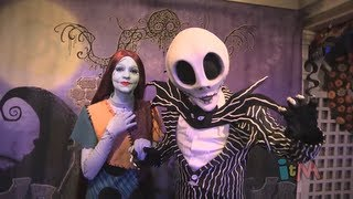 Jack Skellington and Sally meet and greet at Mickey's Not-So-Scary Halloween Party