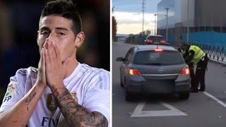 getlinkyoutube.com-VIDEO COMPLETO persecución de la policía a James Rodriguez por ir a más de 200 k/h