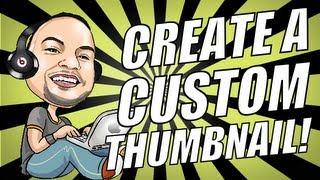getlinkyoutube.com-How to Make Custom Thumbnails with FREE YouTube APP